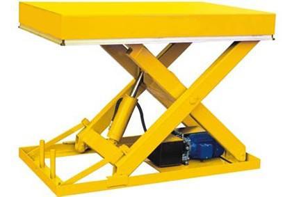 Plataforma hidráulica elevatória