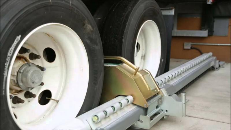 Trava pneu caminhão