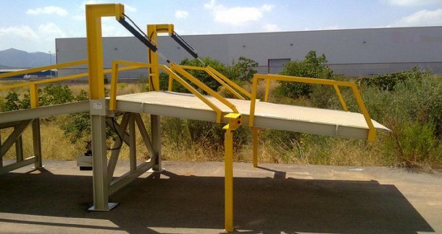Rampa Niveladora Rebocável Prod
