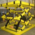Mesa hidraulica pantografica