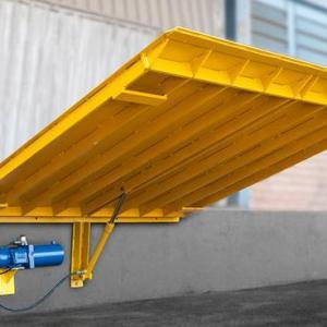 Rampa niveladora para carga e descarga