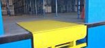 Rampa para carregamento de caminhões